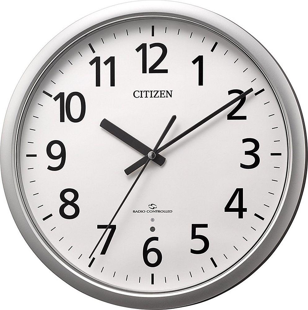 リズム時計工業 電波掛け時計 4MY853-019【北海道・沖縄・離島配送不可】