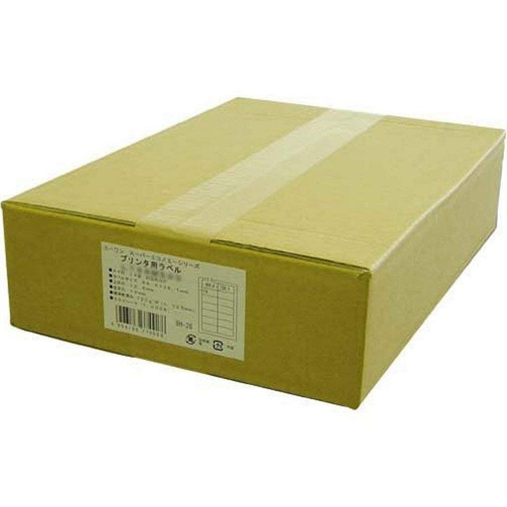(まとめ買い)エーワン スーパーエコノミー プリンタ用ラベル A4 4面 500シート L4AM500N 〔×3〕【北海道・沖縄・離島配送不可】