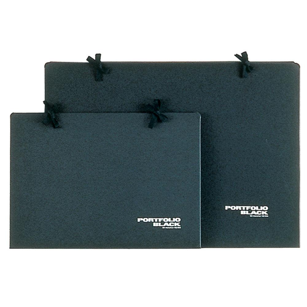 (まとめ買い)マルマン ポートフォリオ B4 黒 PF955 〔×20〕【北海道・沖縄・離島配送不可】