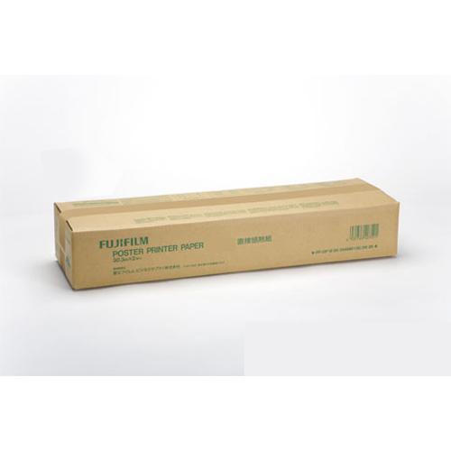 (まとめ買い)富士フイルム ポスタープリンター用紙 直接感熱紙 白地黒 A1幅 PP DIP WBK594MMX30.3 〔×3〕【北海道・沖縄・離島配送不可】