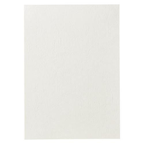 アコ・ブランズ GBCドキュバインド ストックカバー カラーシート #102 A4 白 100枚入 P12A4BZ-WH