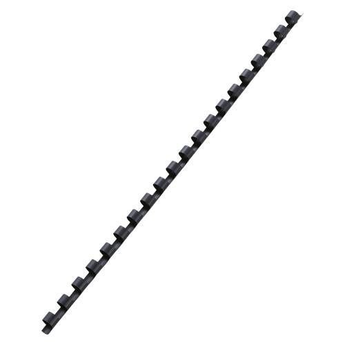 (まとめ買い)アコ・ブランズ GBCドキュバインド プラスチックリング 黒 8mm A4 20穴 100本入 PR0820A4Z-BK 〔×3〕【北海道・沖縄・離島配送不可】