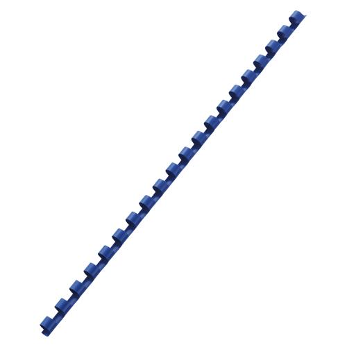 (まとめ買い)アコ・ブランズ GBCドキュバインド プラスチックリング 青 8mm A4 20穴 100本入 PR0820A4Z-BL 〔×3〕【北海道・沖縄・離島配送不可】