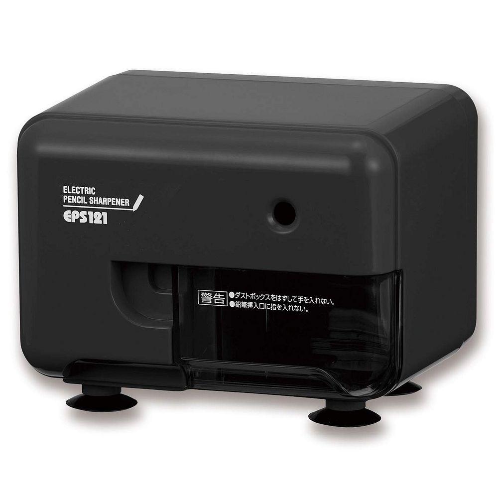 (まとめ買い)アスカ 電動シャープナー 鉛筆削り ブラック EPS121BK 〔3個セット〕【北海道・沖縄・離島配送不可】