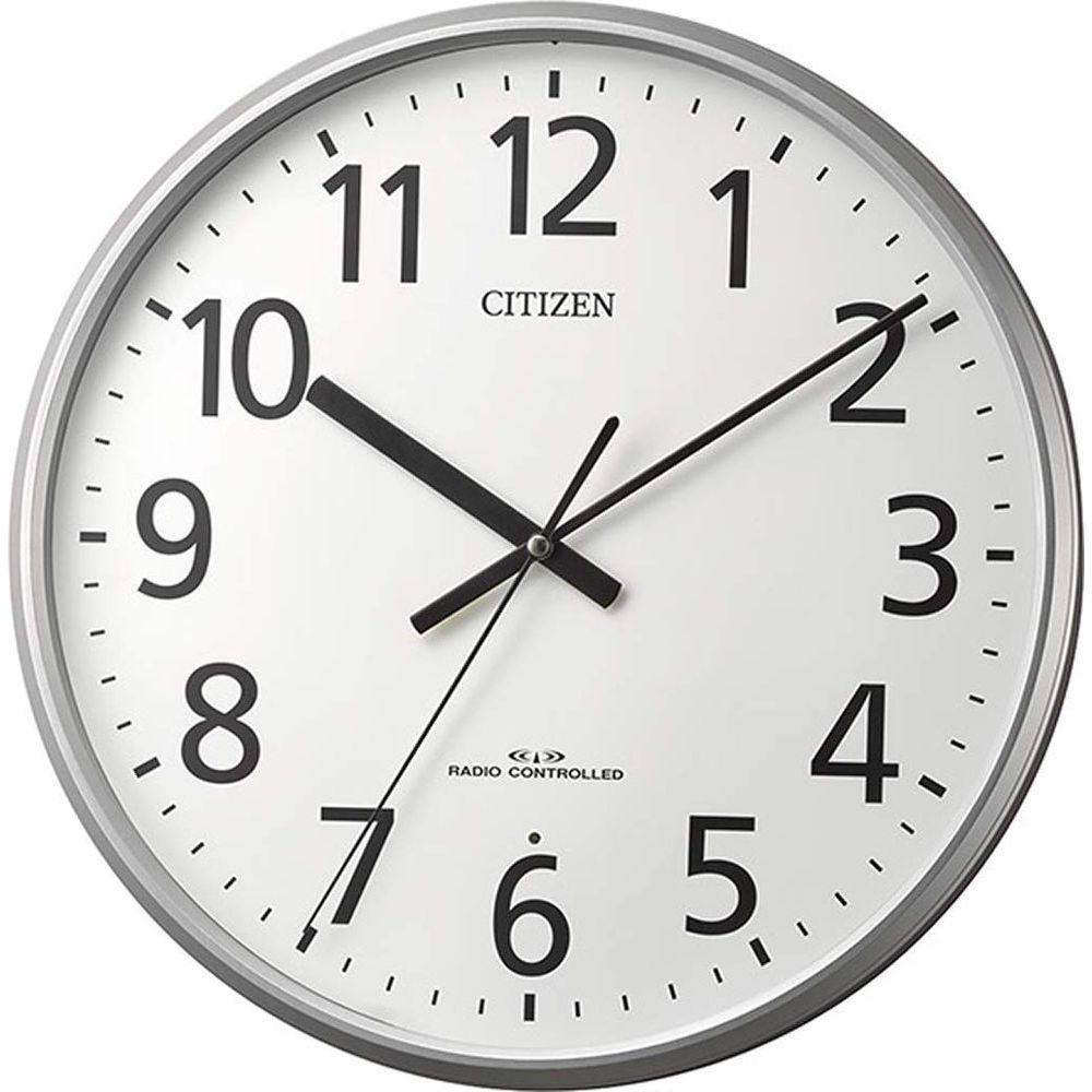 (まとめ買い)シチズン 電波掛け時計 36cm 8MYA39-019 〔×3〕【北海道・沖縄・離島配送不可】
