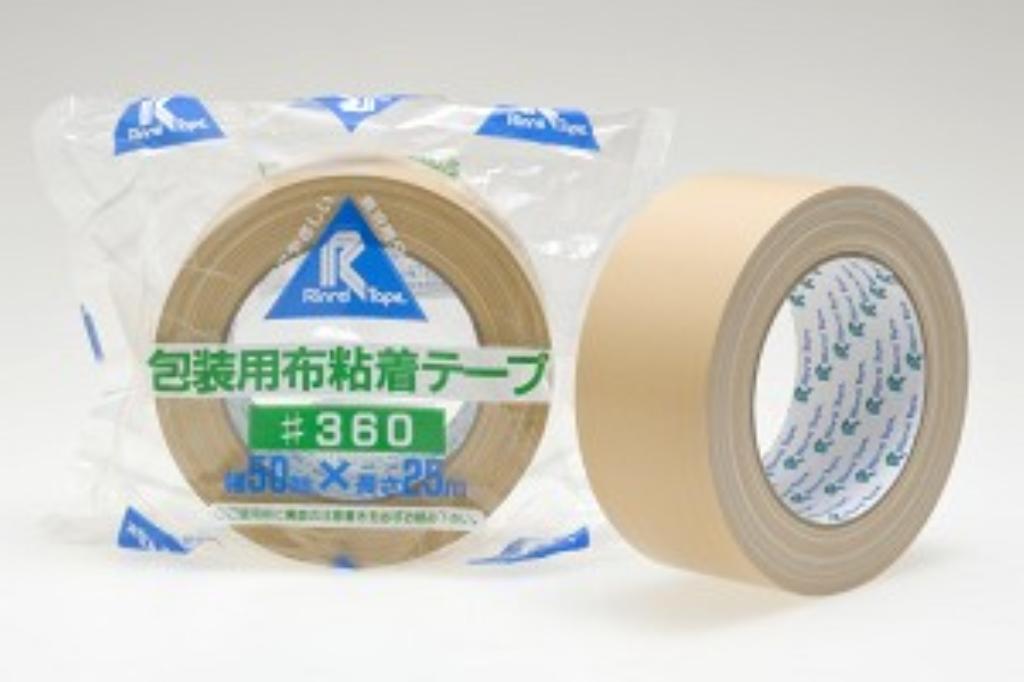 リンレイ 布粘着テープ #360布サイズ50X25m 〔まとめ買い30巻セット〕 【代引不可】