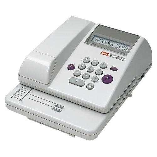 【送料無料】マックス チェックライター EC-610C EC-610C 00010957