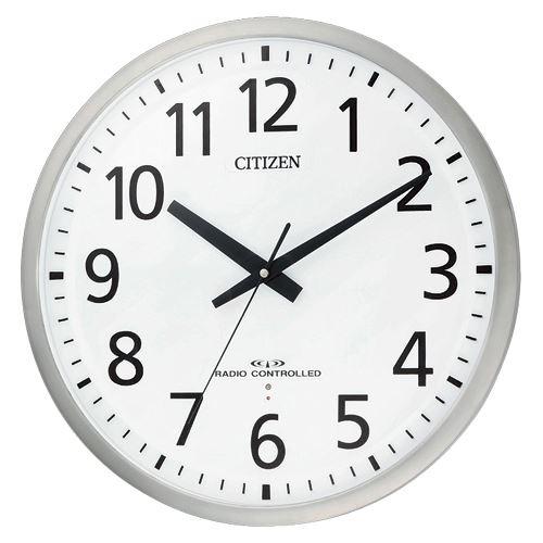【送料無料】シチズン 電波掛時計 スペイシーM463 8MY463-019 00019193