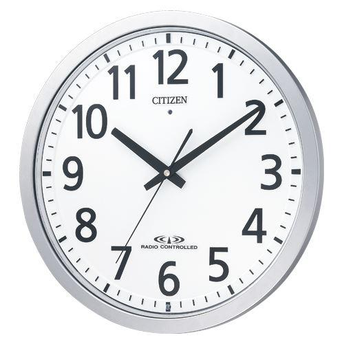 シチズン 電波掛時計 スペイシー M462 8MY462-019 00011793【北海道・沖縄・離島配送不可】