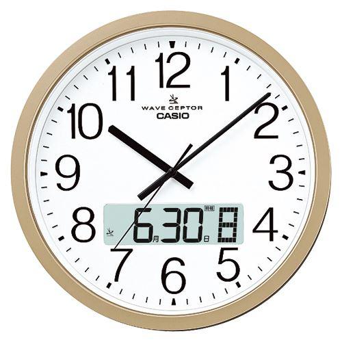 (まとめ買い)カシオ 電波クロック IC-4100J-9JF 〔3台セット〕【北海道・沖縄・離島配送不可】