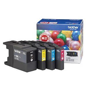 【送料無料】(まとめ買い)ブラザー 大容量インクカートリッジ4色入りパック LC17-4PK 〔×3〕