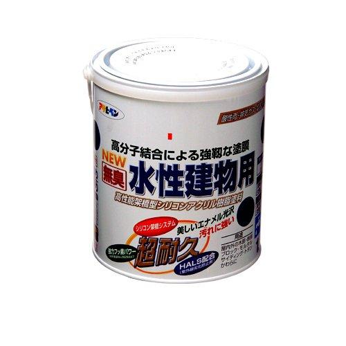 (まとめ買い)アサヒペン NEW水性建物用 茶色1.6L 〔3缶セット〕【北海道・沖縄・離島配送不可】
