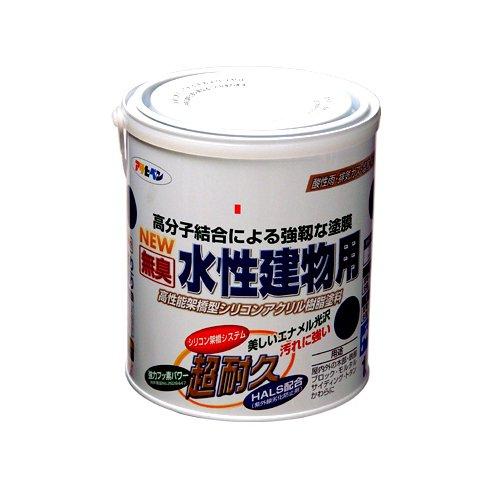 (まとめ買い)アサヒペン NEW水性建物用 若草色1.6L 〔3缶セット〕【北海道・沖縄・離島配送不可】