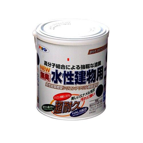 (まとめ買い)アサヒペン NEW水性建物用 空色1.6L 〔3缶セット〕