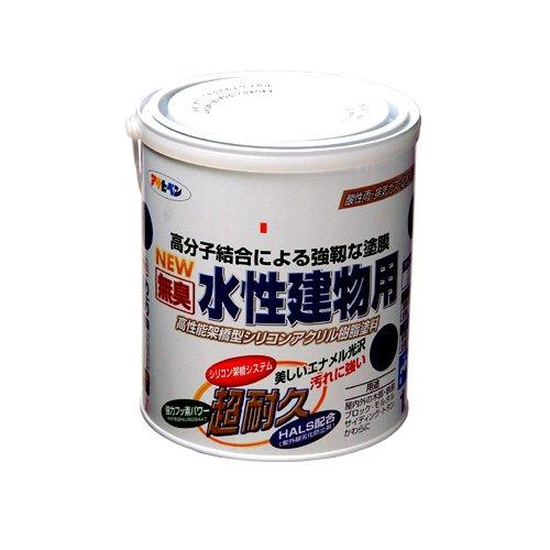 (まとめ買い)アサヒペン NEW水性建物用 ツヤ消し白1.6L 〔3缶セット〕【北海道・沖縄・離島配送不可】