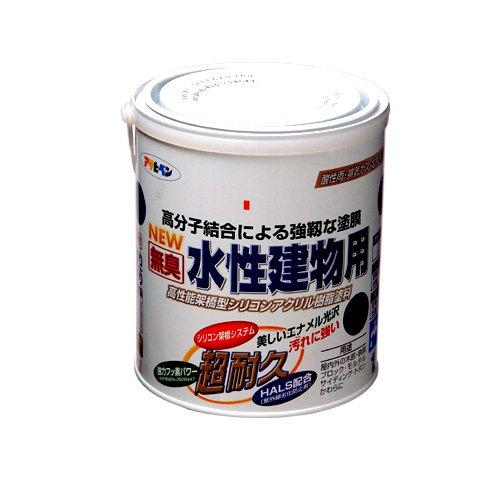 (まとめ買い)アサヒペン NEW水性建物用 ブルーグレー1.6L 〔3缶セット〕【北海道・沖縄・離島配送不可】