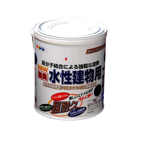 (まとめ買い)アサヒペン NEW水性建物用 パステルグリーン1.6L 〔3缶セット〕【北海道・沖縄・離島配送不可】