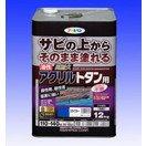 (まとめ買い)油性高耐久アクリルトタン用〔150402AP〕 12KG 黒 黒 〔3缶セット〕【北海道・沖縄・離島配送不可】