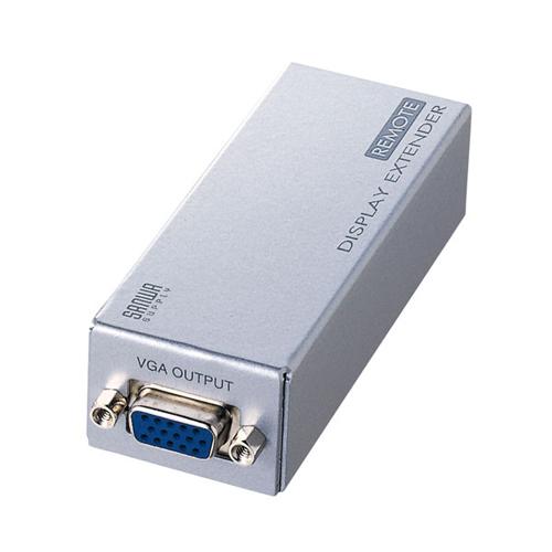 【送料無料】サンワサプライ ディスプレイエクステンダー(受信機) VGA-EXR【代引不可】
