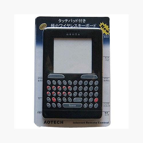 Arotech trackpad built wireless keyboard 24G-AOK46BK