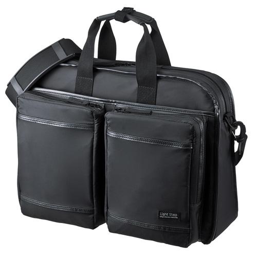 サンワサプライ 超撥水・軽量PCバッグ(3WAYタイプ) BAG-LW10BK【北海道・沖縄・離島配送不可】