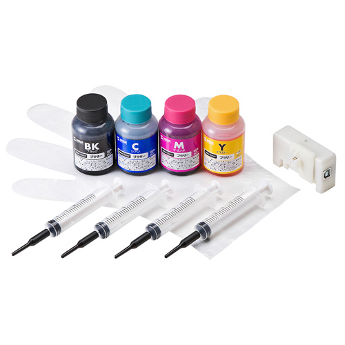 Sanwa supply ink refill LC211 / LC213 and 215.217 for INK-LC213BS60R