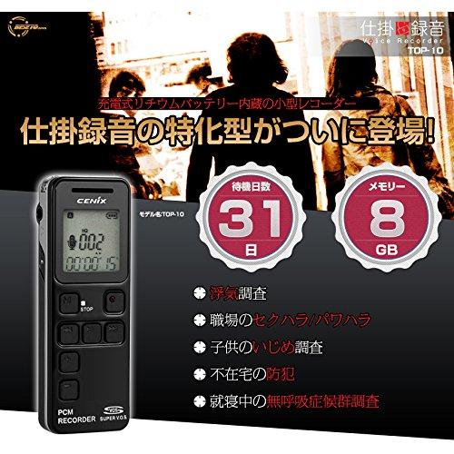 【送料無料】ベセトジャパン 仕掛け録音ボイスレコーダー TOP-10【代引不可】