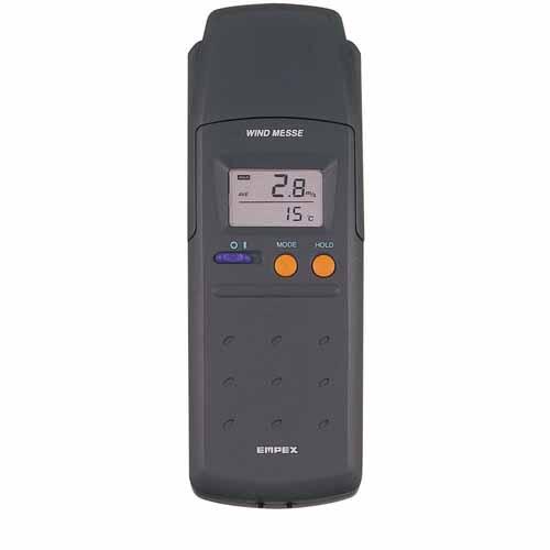 【送料無料】EMPEX デジタル 電子 風速計 ウインド・メッセ FG-561【代引不可】