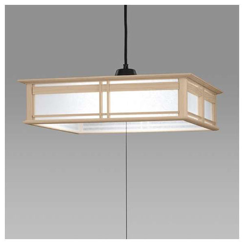 【送料無料】日立 LED和風木枠ペンダントライト~12畳 LEP-CA1201EJ【代引不可】