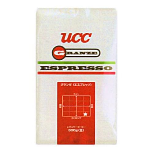 【送料無料】UCC上島珈琲 UCCグランゼエスプレッソ(豆)AP500g 12袋入り UCC301206000【代引不可】