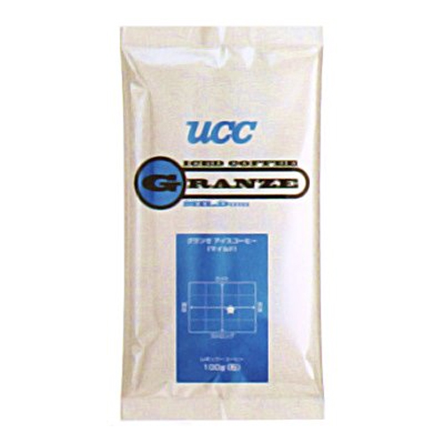 【送料無料】UCC上島珈琲 UCCグランゼマイルドアイスコーヒー(粉)AP100g 50袋入り UCC301185000【代引不可】