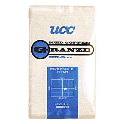 【送料無料】UCC上島珈琲 UCCグランゼマイルドアイスコーヒー豆AP500g 12袋入り UCC301187000【代引不可】