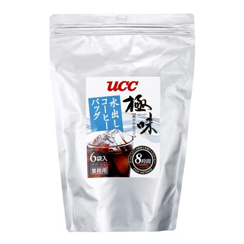 【送料無料】UCC上島珈琲 UCC極味 爽やか仕立て 水出しコーヒーバッグ 80g×6P 12袋入り UCC309845000【代引不可】