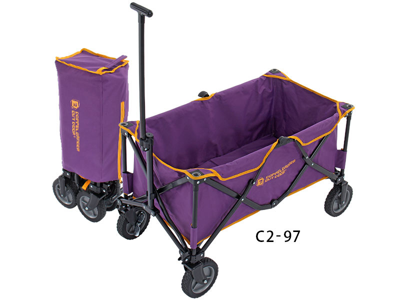DOPPELGANGER OUTDOOR folding carrier wagon C2-97
