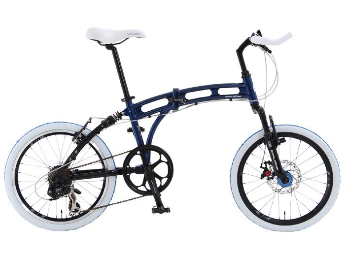 【送料無料】DOPPELGANGER(ドッペルギャンガー) 20インチ 折りたたみ自転車 7段変速 アルミ 219 aurora【代引不可】