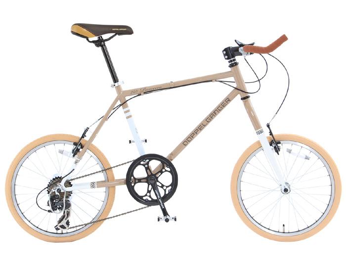 【送料無料】DOPPELGANGER(ドッペルギャンガー) 20インチ 折りたたみ自転車 7段変速 Parceiro 260-GY ブロンズグレイ【代引不可】