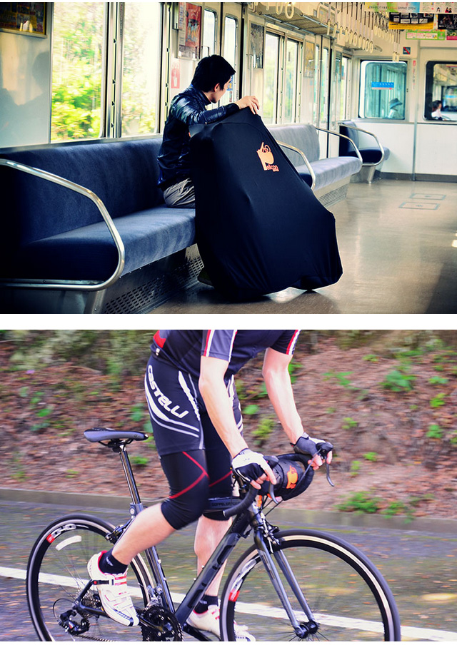 Alicia Ng And Stretched To Slurp A Bike Bag