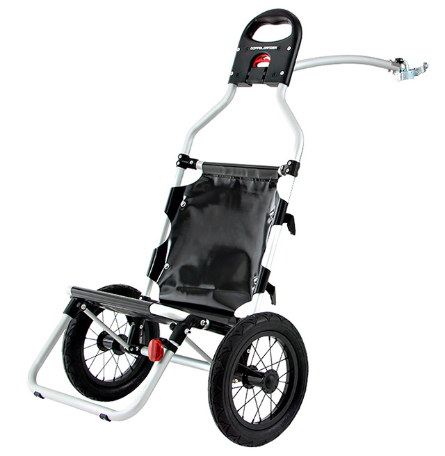 【送料無料】DOPPELGANGER(ドッペルギャンガー) 自転車トレーラー モバイルサイクルトレーラー DCR347-BK 新着【代引不可】