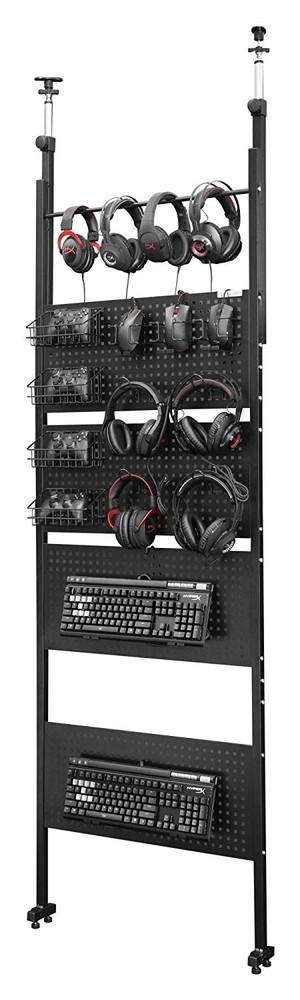 【送料無料】Bauhutte デバイスウォール 壁面収納 BHW-700-BK ブラック【代引不可】