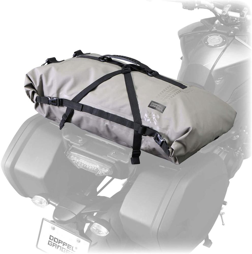 ターポリンツーリングシートバッグ 60L バイク用 ターポリンバッグシリーズ カーキ DBT427-KH【代引不可】【北海道・沖縄・離島配送不可】