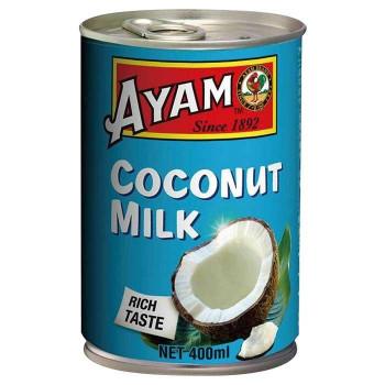 ココナッツエキス約72%使用のココナッツミルク アヤム ココナッツミルク 400ml 12個セット 離島配送不可 メーカー直送 A3-09 新発売 沖縄 北海道