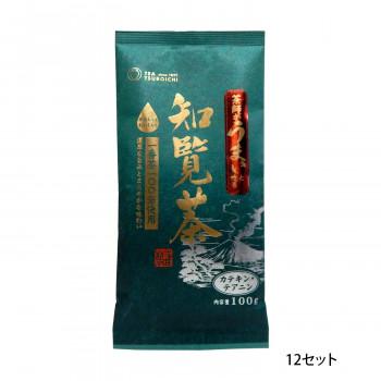 一番茶100%使用 つぼ市製茶本舗 茶師がうまいと唸る知覧茶 100g 12セット 【北海道・沖縄・離島配送不可】