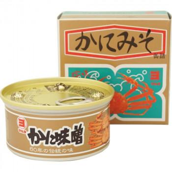 返品不可 伝統の味 かにみそ マルヨ食品 かに味噌缶詰 箱入 未使用品 離島配送不可 北海道 100g×50個 01002 沖縄