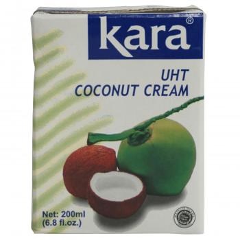 ココナッツミルクより脂肪分を多く含みます カラ 登場大人気アイテム ココナッツクリーム UHT 舗 200ml 沖縄 25個セット 北海道 476 離島配送不可