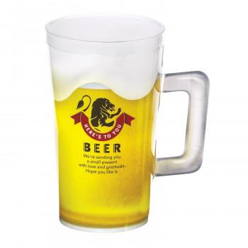 夏はこれで決まり 梱包資材 ラッピング用品 クリアケース ピュアジョッキ 新着 ビア ビールジョッキ PJ-300 高い素材 100個セット 離島配送不可 北海道 沖縄 510321