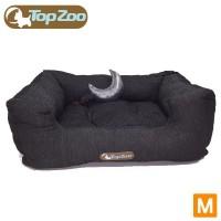 フランス TopZoo/トップズー ペットベッド ドゥドゥコージ ジーンズ M(W60×D45×H25cm) 【代引不可】