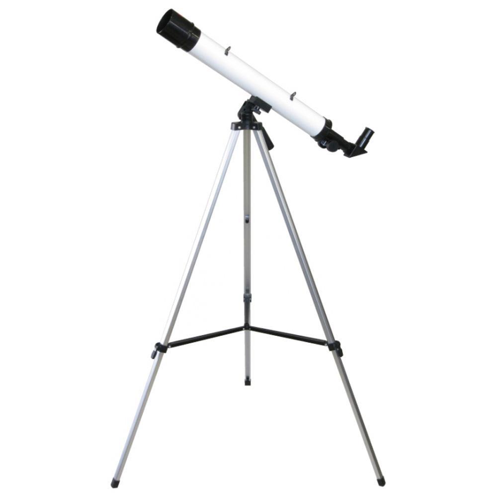 MIZAR(ミザールテック) 屈折式天体望遠鏡 30~75倍 45mm口径 経緯台 白 TS-456 【代引不可】