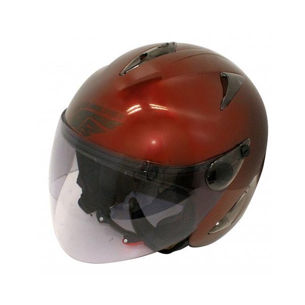 ダムトラックス(DAMMTRAX) BIRD HELMET ヘルメット MAROON 【代引不可】【北海道・沖縄・離島配送不可】