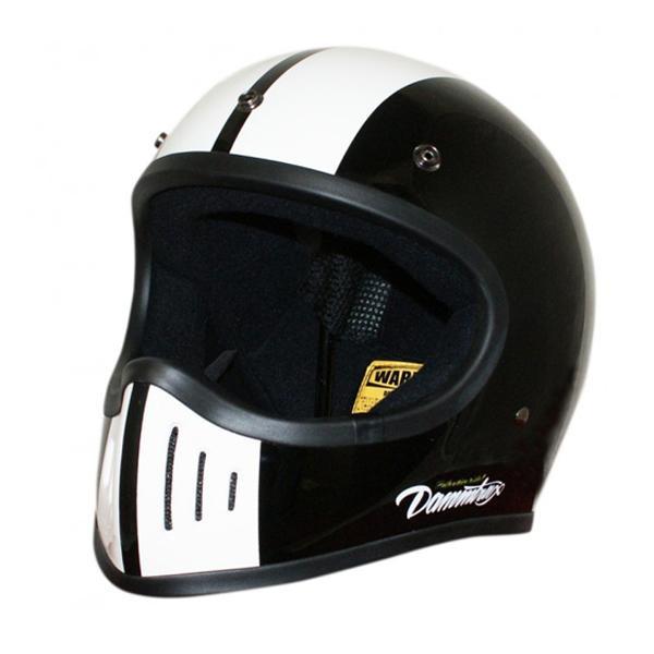 【送料無料】ダムトラックス(DAMMTRAX) BLASTER-改 コブラ ヘルメット BLACK M 【代引不可】