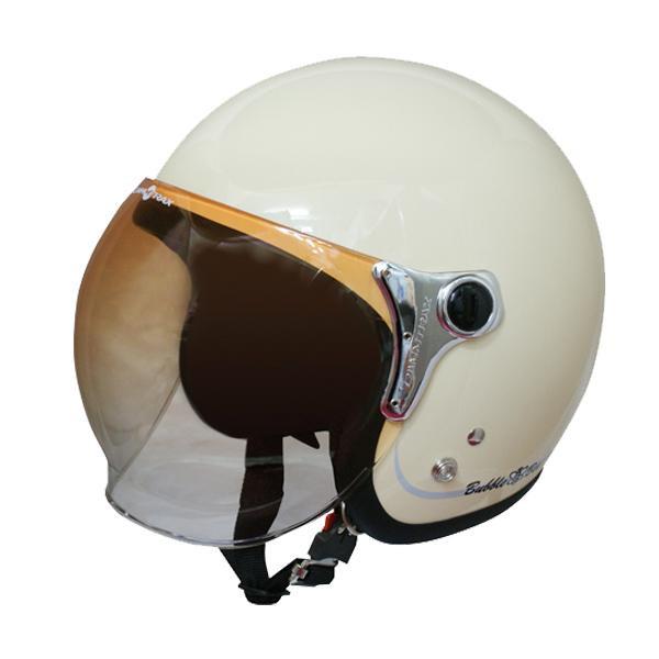 ダムトラックス(DAMMTRAX) バブル ビー ヘルメット PEARL IVORY 【代引不可】